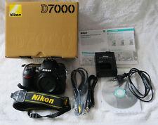 Nikon D7000 Body (Gehäuse) - 16.2MP (16MP) APS-C DSLR Spiegelreflex -TOP mit OVP