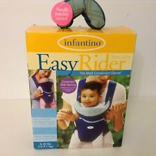 Infantino Easy Rider 8-20 lbs Baby Carrier Ergonomic Straps Weight Distribution