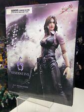 Resident Evil 6 Play Arts Kai Helena Harper Figure Capcom PREOWNED