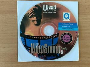 CD Ulead VideoStudio Basic SE Version 4.0