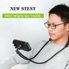 Flexible Mobile Phone Holder Lazy Neck Hanging Tablet Stand Desk Bracket