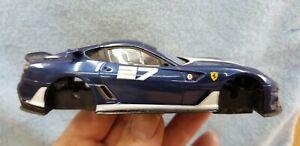 Carrera 1/32 slot car body W/chassis Ferrari 599