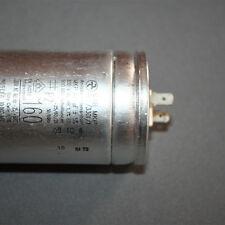 1x 160 uF  330Vac  MAB MKP Motorkondensator
