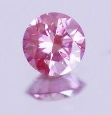 0.48 ct Pink Natural Diamond Fancy color enhanced diamond Gorgeous PURPLE Pink!