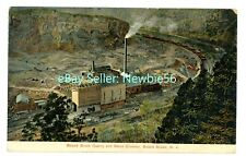 Bound Brook NJ - BOUND BROOK QUARRY & STONE CRUSHER - Postcard Chimney Rock