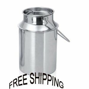 Milk Can 5 Liter milk container Food Grade High Quality SS Material Product