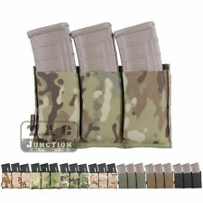 Emerson Tactical Fast Draw MOLLE Triple Open Top 5.56 Magazine Mag Pouch Holster