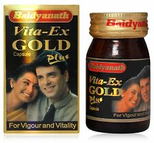 Baidyanath Herbal Vita-Ex Gold Plus Capsules Power Sex Booster