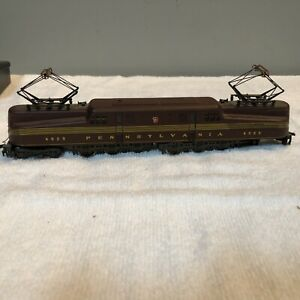 RIVAROSSI Pennsylvania Electric Locomotive #4929 ~ Burnt Red ~ Untested