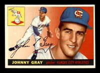 1955 Topps #101 Johnny Gray RC EXMT+ X1532125