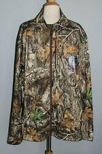NEW Men's REALTREE Edge Techshell Jacket Scent Control Quiet Camo Hunting 2XL