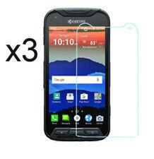 3X Gorilla Glass Screen Protector Saver For Kyocera DuraForce PRO E6810 Verizon