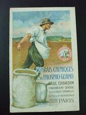 catalogue engrais chimiques phospho guano paul chardin vers 1920 potasse