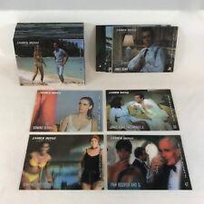 JAMES BOND 007 IN MOTION (2008) Complete LENTICULAR Trading Card Set + JB1-JB6