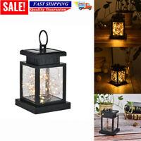 30 LED Waterproof Solar Powered Hanging Lantern Lights Outdoor Garden Table Lamp