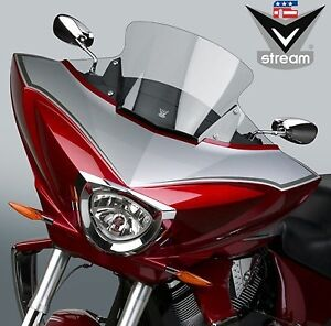 VStream Windshield National Cycle N20700 For Victory Cross Country Tour