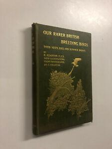 Our Rarer British Breeding Birds by R. Kearton - Pub: Cassell 1900 Hardback Book