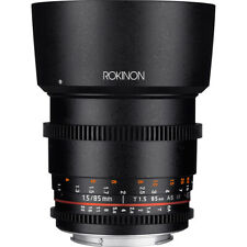 Rokinon DS 85mm T1.5 Full Frame Cine Lens for Sony E Mount
