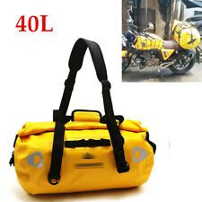 40L Motorcycle Bag Outdoor Dry Sack Bag Cycling Waterproof Shoulder Bag Driving