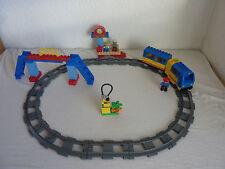 LEGO Duplo Ville Eisenbahn - Starter Set 5608 - E-Lok, Bahnhof - TOP+Anleitung