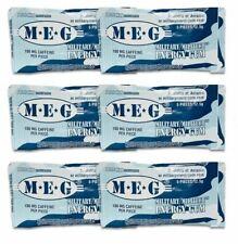 Military Energy Gum - 30 Gum Pieces -100mg Caffeine Each-