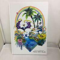 JAPAN pokemon Sun and Moon Alola ART book nintendo F/S with CD rare