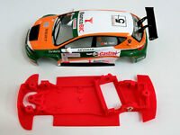 Chasis Leon MK3 rally compatible SCX Scalextric ES AW High Performance Mustang