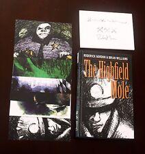 The Highfield Mole  Gordon Brian Williams - Signed HC + Bookmark + Postcard