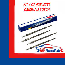 KIT 4 CANDELETTE BOSCH FORD FOCUS C-MAX FIESTA GALAXY MONDEO S-MAX 1.8 TDCI