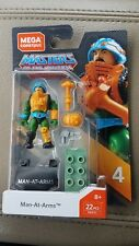 MEGA CONSTRUX HEROES MASTERS OF THE UNIVERSE MAN-AT-ARMS IN HAND!