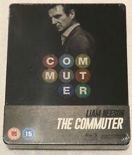 Liam Neeson The Commuter 2018 Action Thriller RARE UK Blu-ray Steelbook