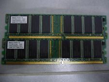 Hynix 512 MB DIMM 333 MHz DDR SDRAM Memory HYMD232646A8J-J Number of Modules 2
