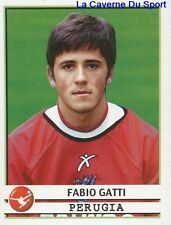 279 FABIO GATTI ITALIA AC.PERUGIA STICKER CALCIATORI 2002 PANINI
