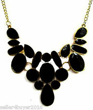 CosMos Handicrafts Ashoka Partywear Black Minha Antique Necklace for Girls/Women