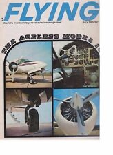 Flying Magazine (Jul 1965) (Beech 18, Cherokee Six PA-32, Volaire 10A)