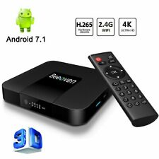 Beeoven Android TV Box 1GB RAM+8GB ROM Android 7.1 Nougat Quad-core ARM Cortex-A
