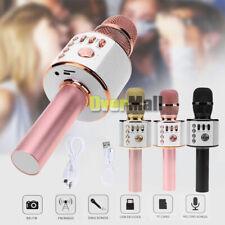Q37 Wireless Karaoke Handheld Microphone USB KTV Player Bluetooth Mic Speaker US