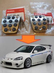 Pedal Pads For Acura RSX Honda Accord Civic Integra DC5 Set OEM