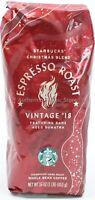 NEW 2018 Starbucks Christmas Espresso Whole Bean Coffee 1lb 16oz 453g Bag