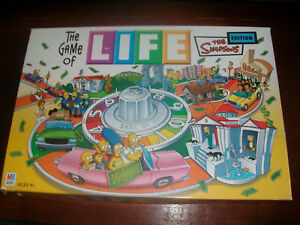 Simpsons Game of Life Spare Parts Pieces Movers Money Pegs etc Choose from List