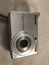 Sony Cyber-shot DSC-S730 7.2MP Digital Camera - Silver