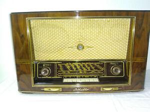 antigua röhrenradio nordmende othello 55  valvula antiguo rádio music