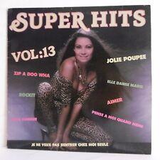 33T SUPER HITS Vol.13 Vinyl LP P. OLIVER Orch. Chants Pin Up ROLAND MUSIC 33187