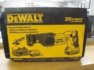FACTORY SEALED DEWALT DCS380P1 20V MAX CORDLESS RECIPROCATING SAW KIT