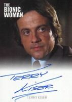 Bionic Collection The Bionic Woman Terry Kiser Autograph Card