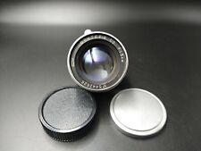 JUPITER 8 red P russian lens 2/50 for Leica M39 L39 mount FED Zorki camera