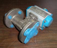 "New Jamesbury VPVL051 SR4/5BC Valve Acuator Attachment 3/4"" SS CF8M Flanged Valv"