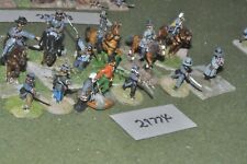 25mm ACW / confederate - generals & escort 12 figures - command (29774)