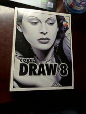 Corel Draw 8 User Manual, Trade Pb, Used