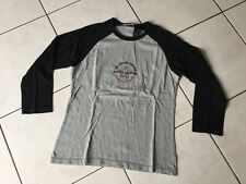 Tee-shirt DKNY JEANS taille M Soit 14/16 Ans gris et Noir bon état